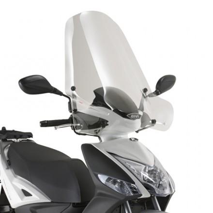 Parabrezza Givi 440A + A6106A Kymco Agility 125-200 R16+ (14)