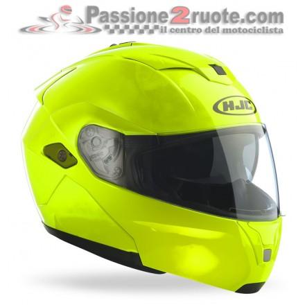 Casco modulare Hjc Sy-Max III Fluorescent Green helmet