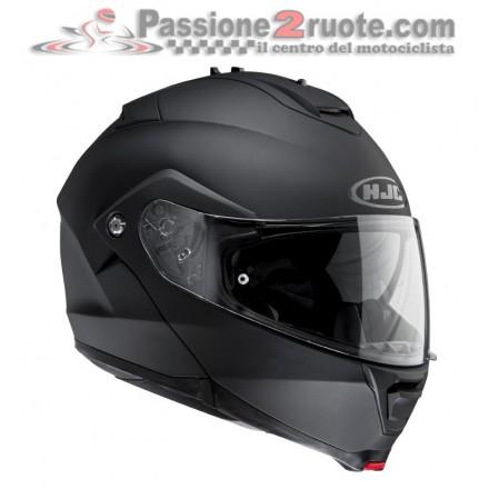Casco modulare Hjc Is-Max II nero opaco Matt Black helmet