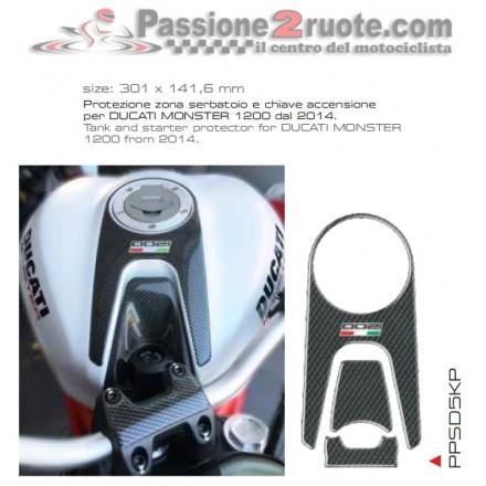 Proteggi serbatoio chiave accensione Print Ducati Monster 1200