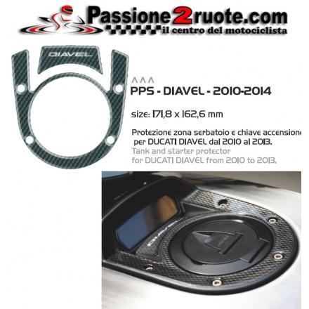 Proteggi serbatoio chiave accensione Print Ducati Diavel
