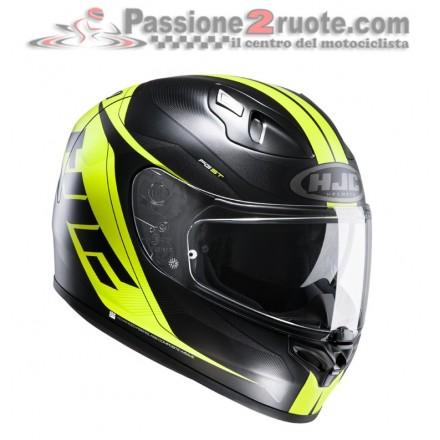 Casco moto Hjc Fg-St Crono black yellow Mc-4hsf helmet