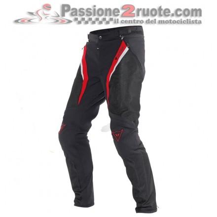 Pantalone moto Dainese Drake Super Air Tex Nero Rosso Bianco pant