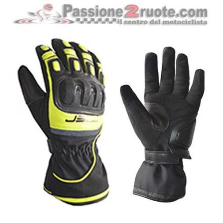 Guanti moto Jollisport Titan nero Giallo gloves