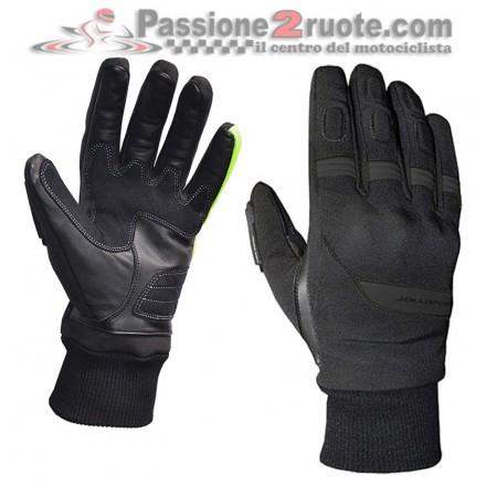 Guanti moto Jollisport Span Nero black gloves
