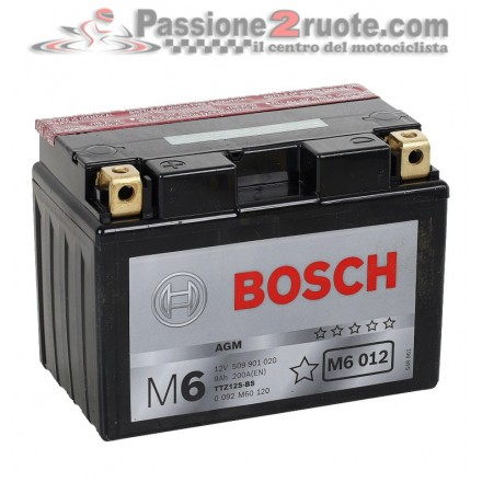 Batteria 12V 9Ah 200A(EN) Bosch M6 012
