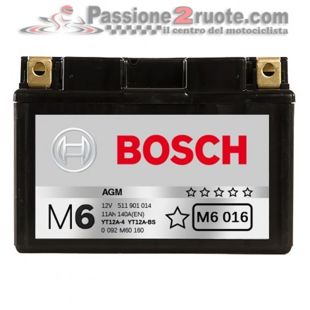 Batteria 12V 11Ah 140A(EN) Bosch M6 016