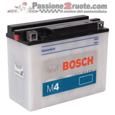 Batteria YB4L-B Bosch M4 F17 Gilera