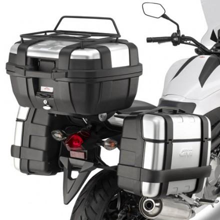 Telaietti laterali Givi PL1111 + 1111KIT Honda NC 700 S (12-13) NC 750 S (14)
