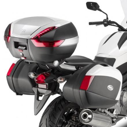 Telaietti laterali Givi PLX1111 + 1111KIT Honda  NC 700 X (12-13) / NC 750 X (14)