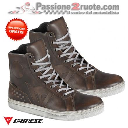 Scarpe moto Dainese Street Rocker D-WP Testa di Moro shoes