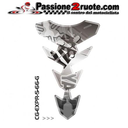 Paraserbatoio adesivo protezione serbatoio moto resinato para zip moto Print Yamaha CGEXS66P tank pad