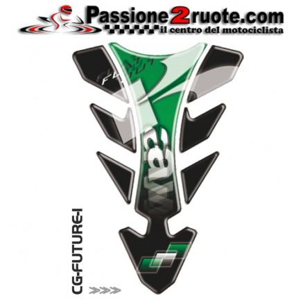Paraserbatoio adesivo protezione serbatoio moto resinato para zip moto Print Kawasaki CGFUTUR1P tank pad