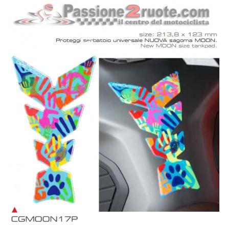 Paraserbatoio adesivo para serbatoio resinato Print Valentino Rossi Misano 2014 tank pad stickers