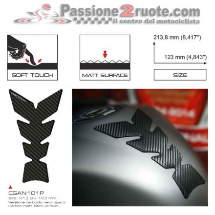 Paraserbatoio Print Carbonio opaco soft touch