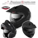 Casco modulare Caberg Tourmax Matt Black moto helmet