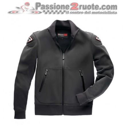 Felpa giacca moto Blauer Easy Man 1.0 Antracite sweatshirt jacket