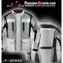 Giacca moto touring Axo Voyager Grigio jacket