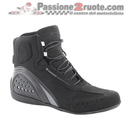 Scarpe moto Dainese Motorshoe air nero grigio black antracite shoes