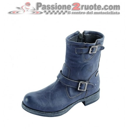 Scarpe moto donna Bahia Lady D-WP Nero shoes