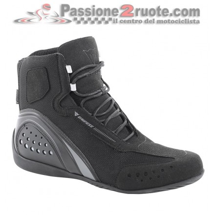 Scarpe moto donna Dainese Motorshoe Lady D-WP Nero black shoes