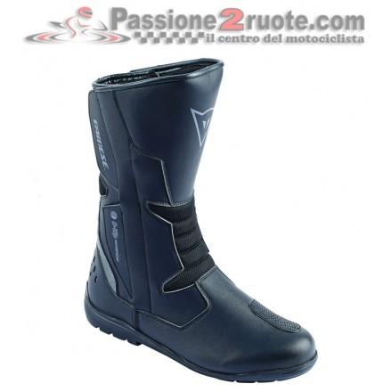 Stivali moto turismo Dainese Tempest D-WP Nero Carbon black boots