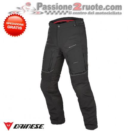 Pantalone moto touring Dainese D-Explorer Gore-Tex Nero Nero Dark-Gull-Gray