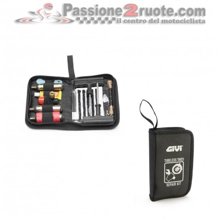 Kit riparazione gomme Tubeless Givi S450 tyre repair kit