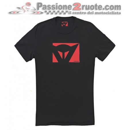 T-shirt Dainese Color New Nero rosso