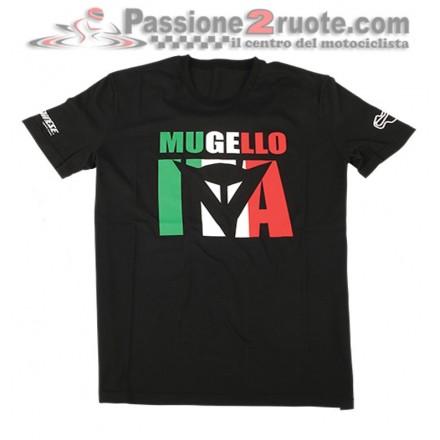 T-Shirt maglia moto Dainese Mugello D1 Nero black