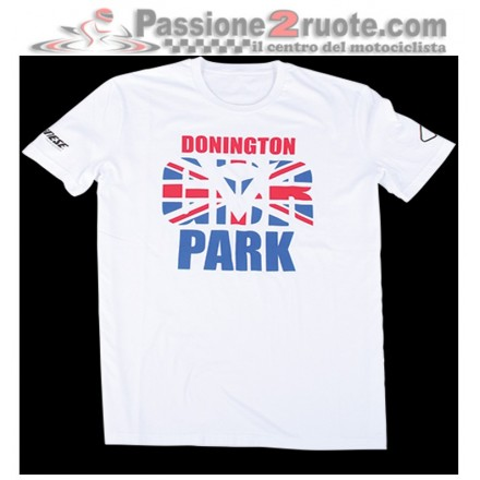 T-Shirt Dainese Donington D1 Bianco