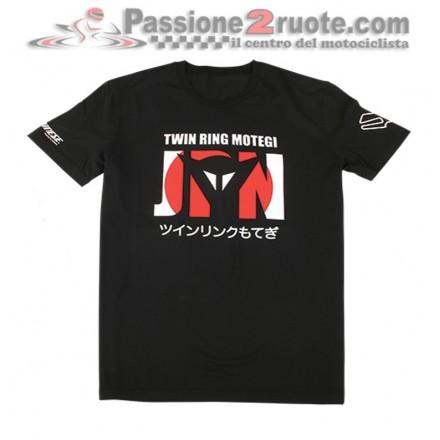 T-Shirt maglia Dainese Motegi D1 nero black