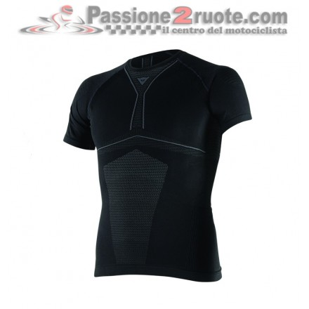 Maglia Termica Dainese D-Core Dry Tee SS Nero - Antracite