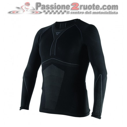 Maglia Termica maniche lunghe Dainese D-Core Dry Tee LS Nero Antracite Long sleeve