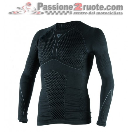 Maglia Termica Dainese maniche lunghe D-Core Thermo Tee LS Nero Antracite long sleeve