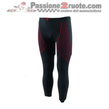 Pantalone Termico Dainese D-Core Thermo Pant LL Nero rosso black red