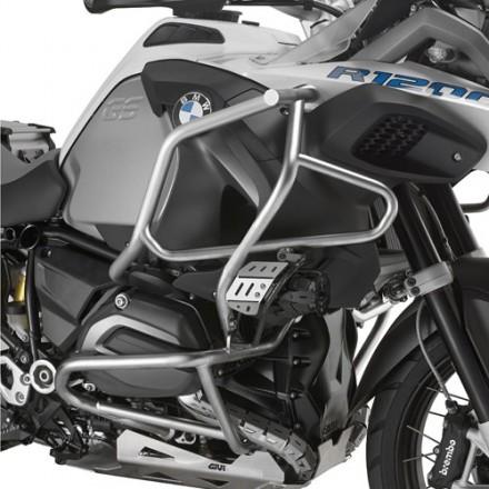 Paramotore tubolare protezione motore acciaio Inox Bmw R1200 Gs Adventure Givi TNH5112OX engine guard protection