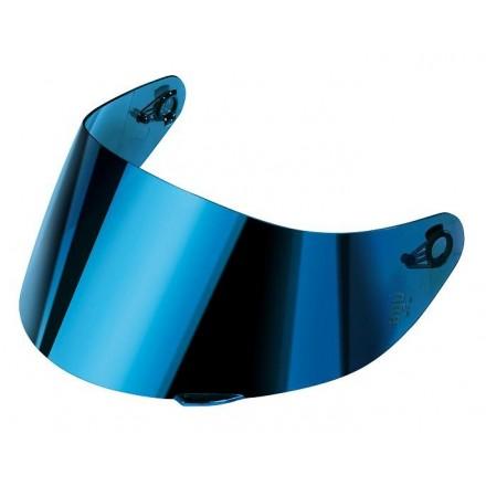 Visiera specchio blu Agv K1 K3 SV K5 s Horizon Skyline GT2 iridium blue shield