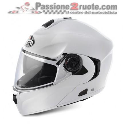 Casco Modulare Airoh Rides bianco White helmet