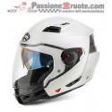 Casco modulare moto crossover Airoh Executive Bianco White helmet