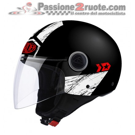 Casco Airoh Malibù Panzer Black Matt helmet
