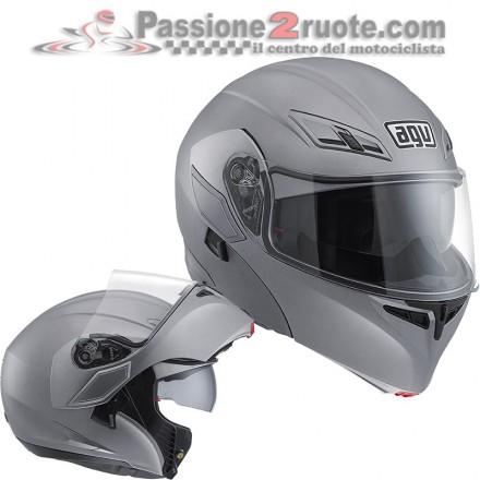 Casco modulare Agv Compact Matt Grey helmet