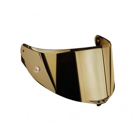 Visiera specchiata specchio oro dorata iridium gold casco Agv Race 3 Pista Gp R Corsa R Gt Veloce S visor helmet