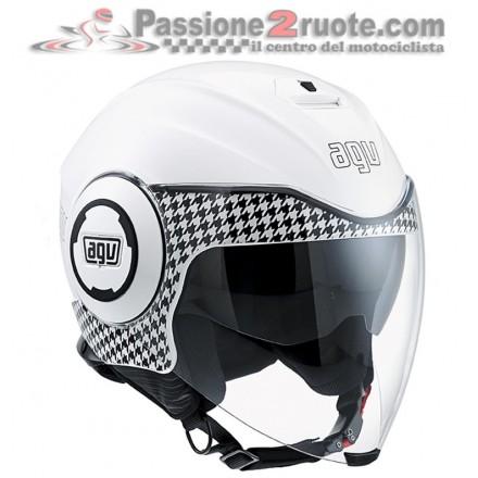 Casco Agv fluid dresscode white bianco helmet