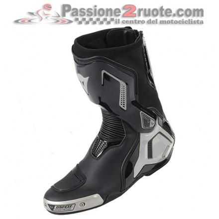 Stivali moto racing pista corsa Dainese Torque D1 Out Nero Antracite boots