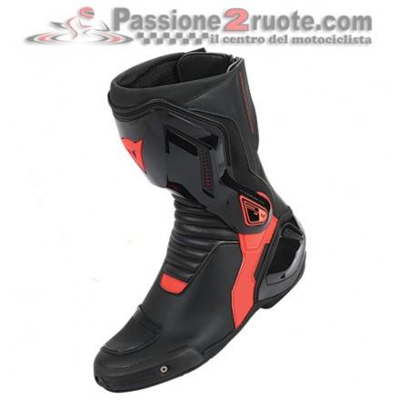 Stivali moto racing pista corsa Dainese Nexus nero rosso black red Boots