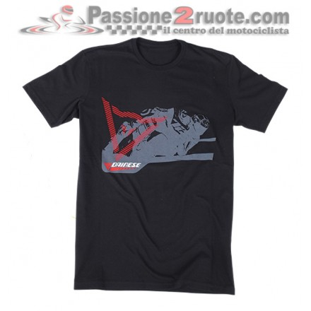 T-Shirt maglia Dainese Gripping Nero black