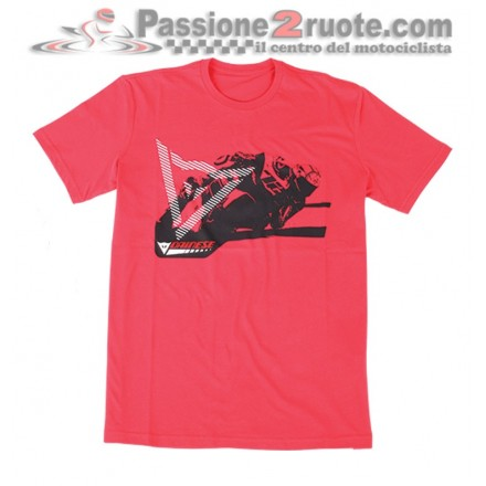 T-Shirt maglia Dainese Gripping Rosso red