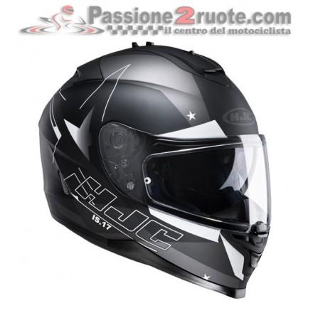 Casco integrale moto Hjc Is17 Armada Mc5f nero opaco black matt Helmet casque