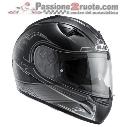 Casco integrale moto Hjc Tr-1 Nito Mc5sf nero black helmet casque